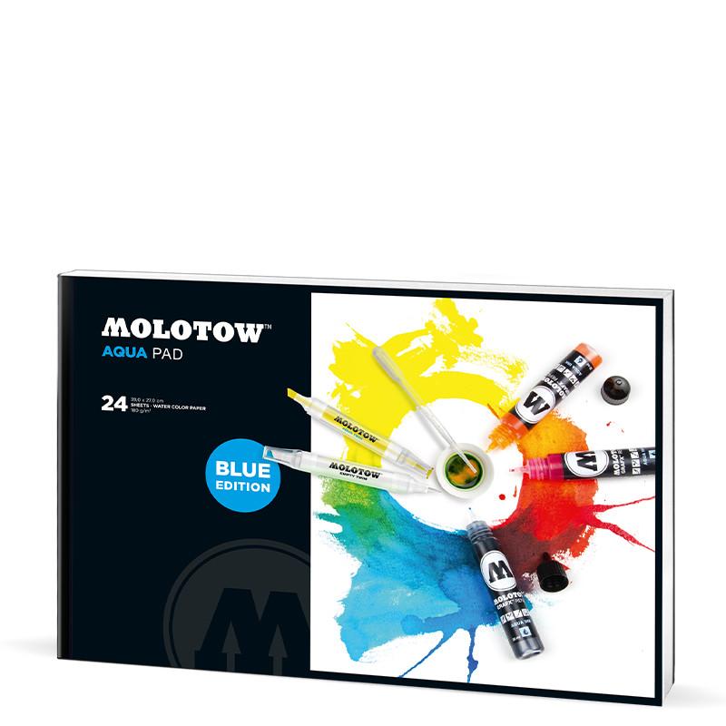 Akvarellblock Molotow Aqua Pad 390x270mm