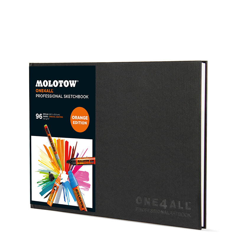 Ritbok Molotow ONE4ALL Prof. Artbook A4 L. 96ark 150g