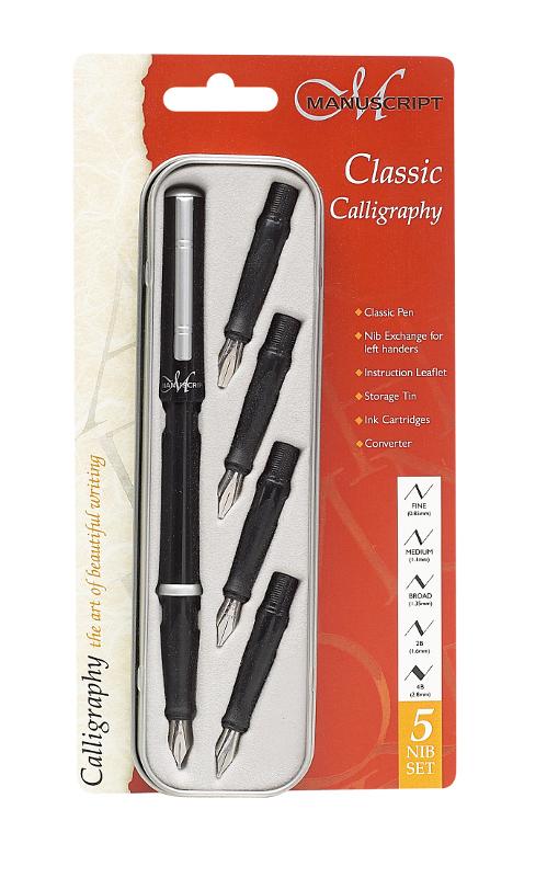 Kalligrafiset Manuscript Classic Set MC1185