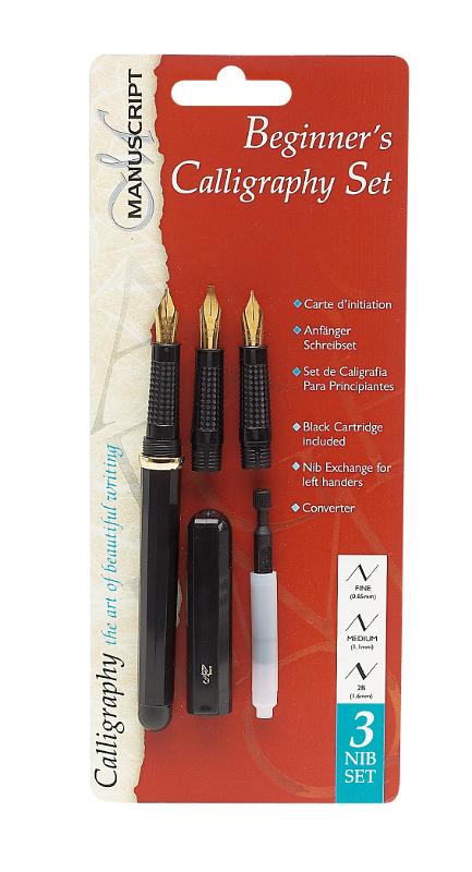 Kalligrafiset Manuscript Beginner's Set MC1235