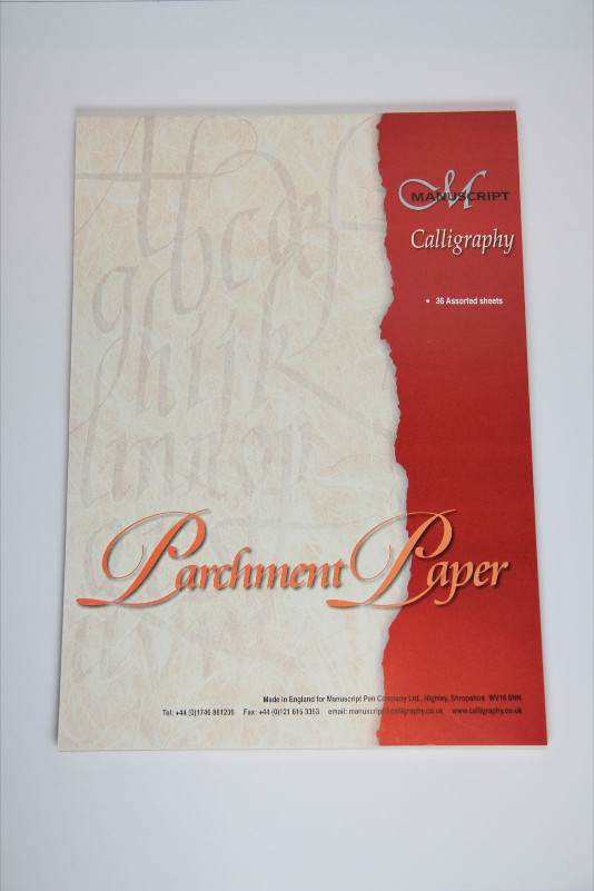 Kalligrafiblock Manuscript Parchment Paper (5F) MC303