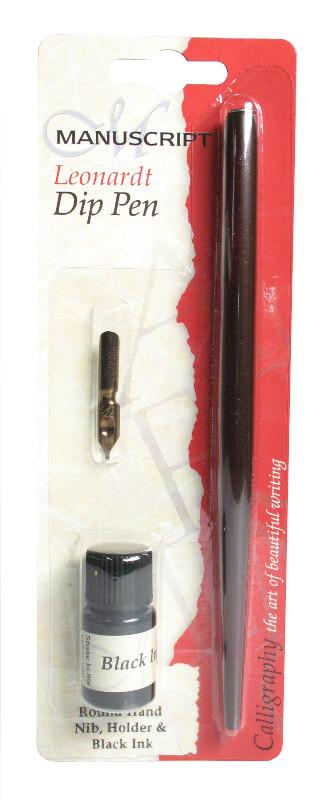 Kalligrafi Manuscript Doppenna Round Hand Nib Black Ink MDP260B