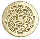 Sigill Manuscript Coin Celtic Rose (5F) MSH727CEL utgår