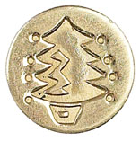 Sigill Manuscript Coin Christmas tree (5F) MSH727CHT