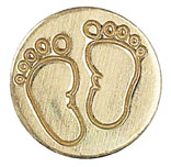 Sigill Manuscript Coin Baby Foot (5F) MSH727FOT utgår