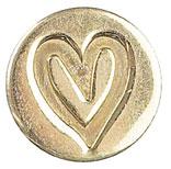 Sigill Manuscript Coin Heart (5F) MSH727HEA