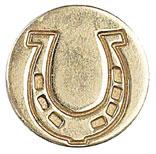 Sigill Manuscript Coin Horseshoe (5F) MSH727HRS utgår