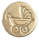 Sigill Manuscript Coin Pram (5F) MSH727PRM utgår