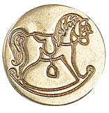 Sigill Manuscript Coin Rocking Horse (5F) MSH727RCK