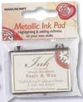 Sigill Manuscript Ink Pad Silver MSH761IPSS utgår