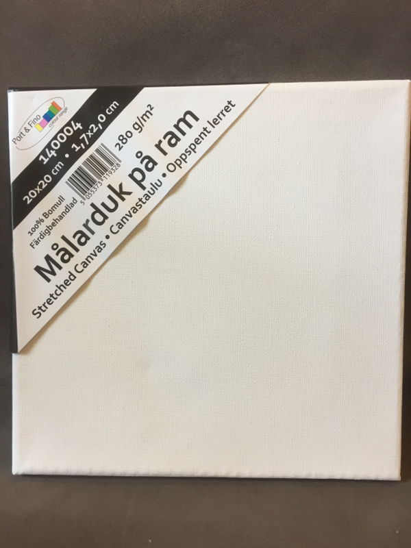 Duk uppspänd NPA 10x10x1,7cm 10-pack