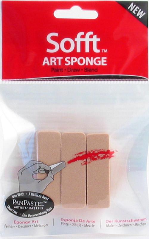 PanPastel Sofft SpongeBar-Flat(x3) (6F)