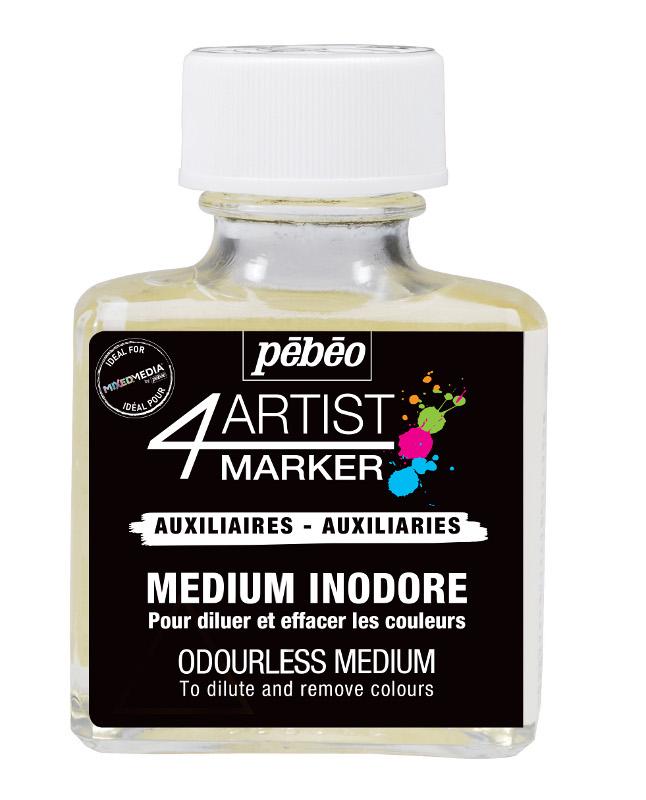 Medium Pebeo 4Artist Marker Luktfri 75ml (6F)