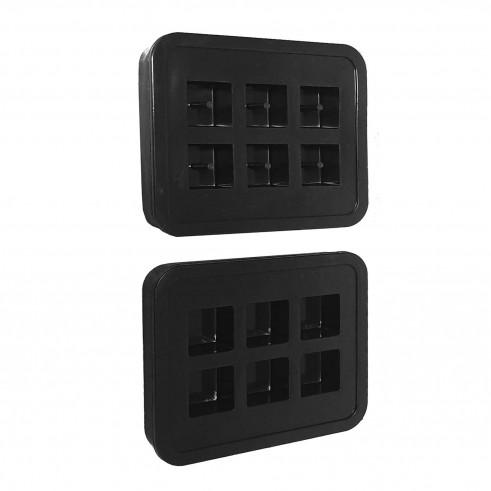 Modelleringsform Pebeo Cubic Molds Bag  (4F)