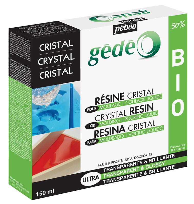 Resin Epoxi Pebeo Crystal Resin Biorganic kit 150ml