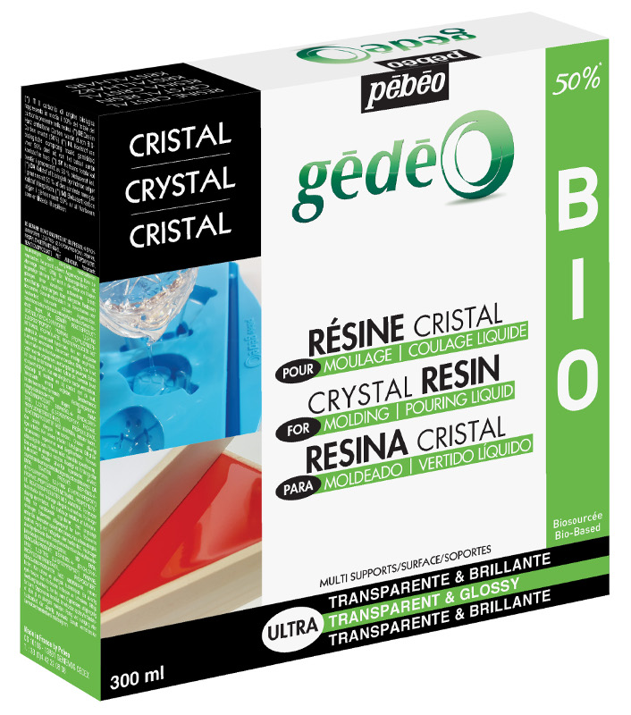 Resin Epoxi Pebeo Crystal Resin Biorganic kit 300ml