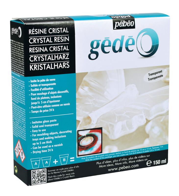Resin Epoxi Pebeo Crystal Resin kit 150ml