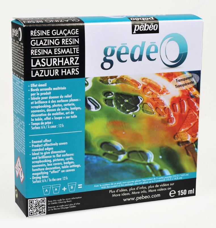 Resin Epoxi Pebeo Glazing Resin kit 150ml