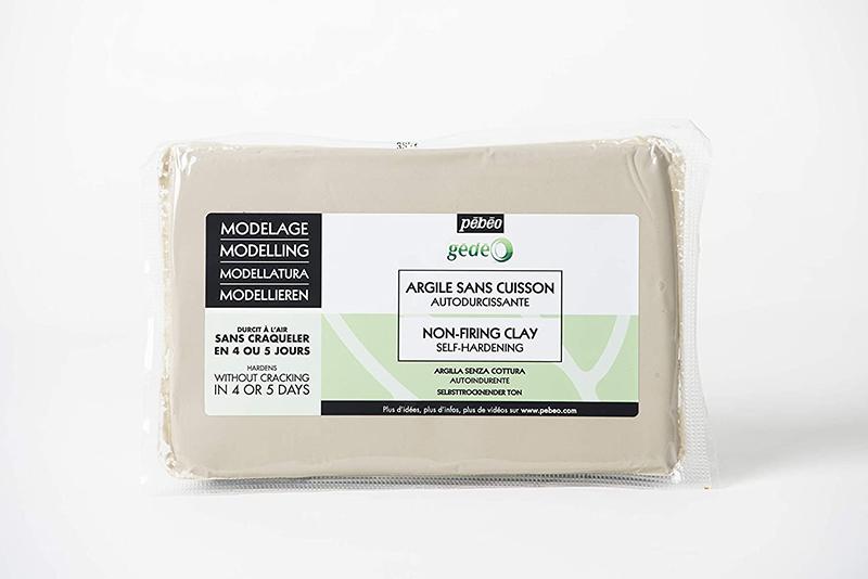 Lera Pebeo Gédéo Non-Firing Modelling Clay Loaf White 1,5kg (4F)