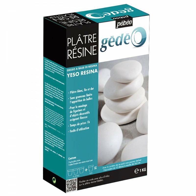 Modellering Pebeo Gédéo Resin Plaster 1Kg  (6F)