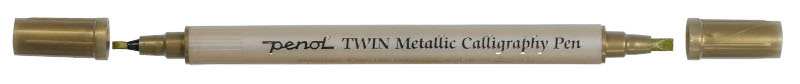 Kalligrafipenna Penol Met. Kalligrafip. 2,5 - 3,5 mm Guld (10F)