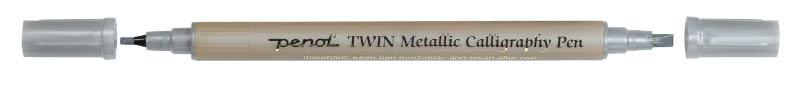 Kalligrafipenna Penol Met. Kalligrafip. 2,5 - 3,5 mm Silver (10F)