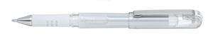 Kulspetspenna Pentel Hybrid Gel Grip DX 1,0mm vit K230-W
