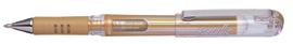 Kulspetspenna Pentel Hybrid Gel Grip DX 1,0mm guldmetallic K230-X