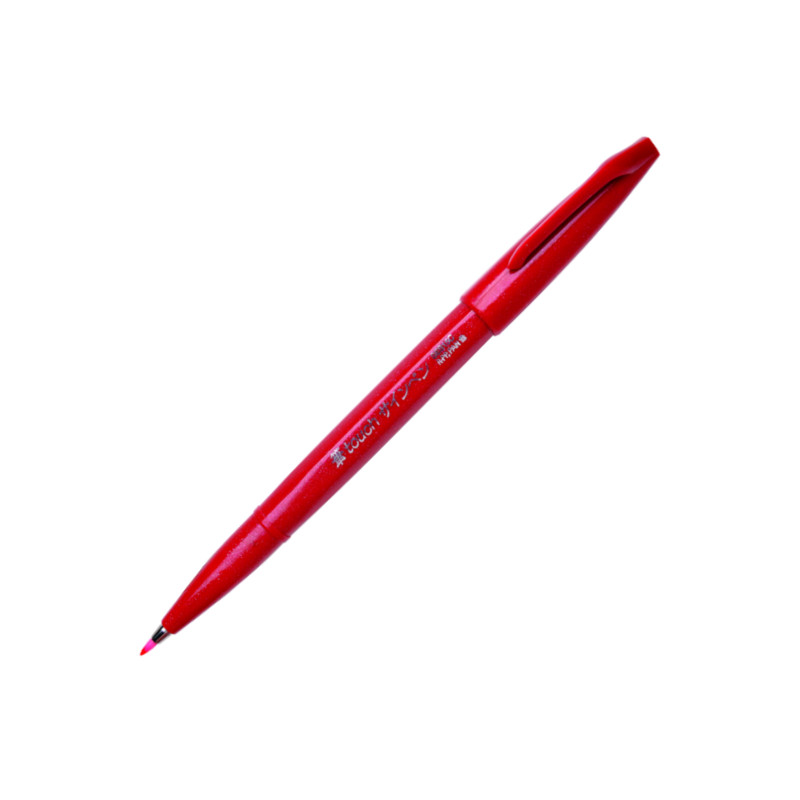 Pentel Brush Sign Touch Red (10F)