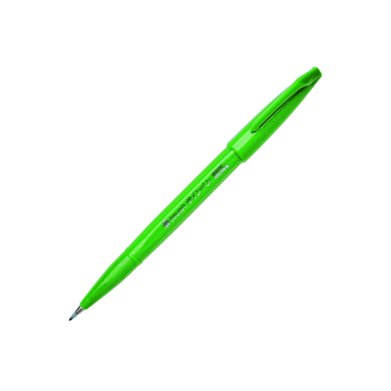 Pentel Brush Sign Touch Green (10F)