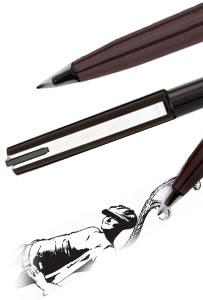 Reservoarpenna Stylo JM20, sketch pen plastspets svart (ex576)