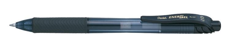 Kulspetspenna Pentel EnerGelX Roller  BL107-A Black