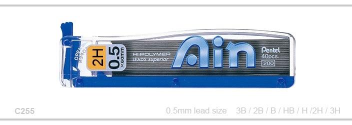 Stift Pentel C255 AIN 0,5mm 2H