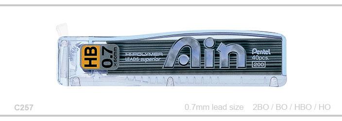 Stift Pentel C257 AIN STEIN 0,7mm 2B