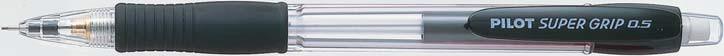 Stiftpenna Pilot Super Grip 0,5 Svart    H-185-SL-B (12F)