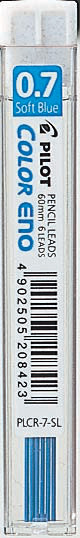 Stift Pilot Color Eno 0.7 LjusBlå 6st/tub    PLCR-7-SL