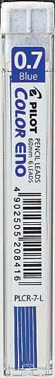 Stift Pilot Color Eno 0.7 Blå 6st/tub    PLCR-7-L