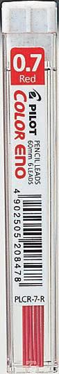 Stift Pilot Color Eno 0.7 Röd 6st/tub    PLCR-7-R