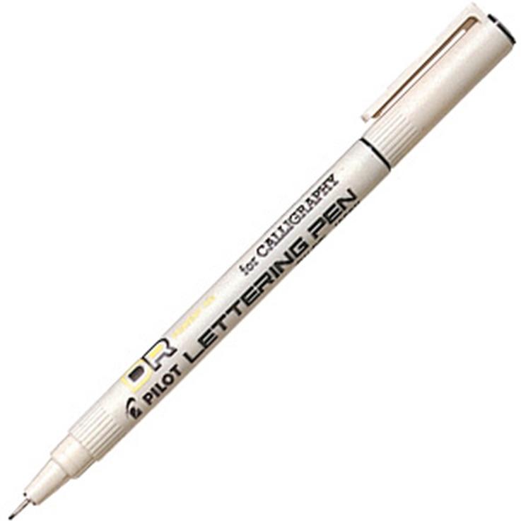 Kalligrafipenna Pilot 1.0 Svart    SW-DRL-10-B (12F)