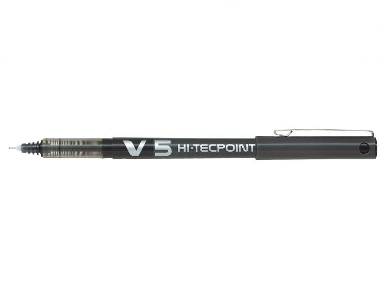 Kulspetspenna Pilot Hi-Tecpoint V5 <RT> svart BXRT-V5-B