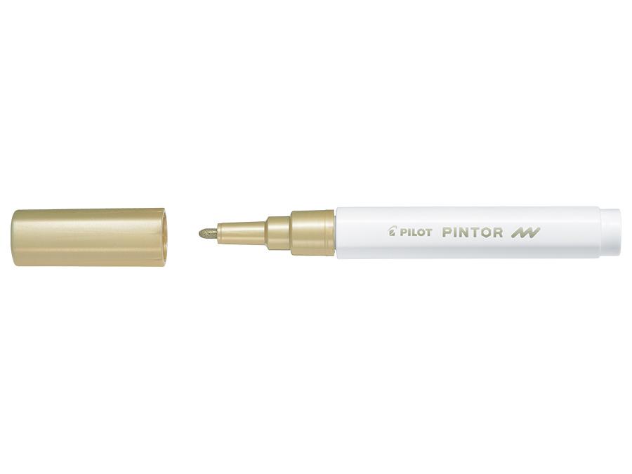 Fiberpenna Pilot Pintor - Fine - Guld  (6F)