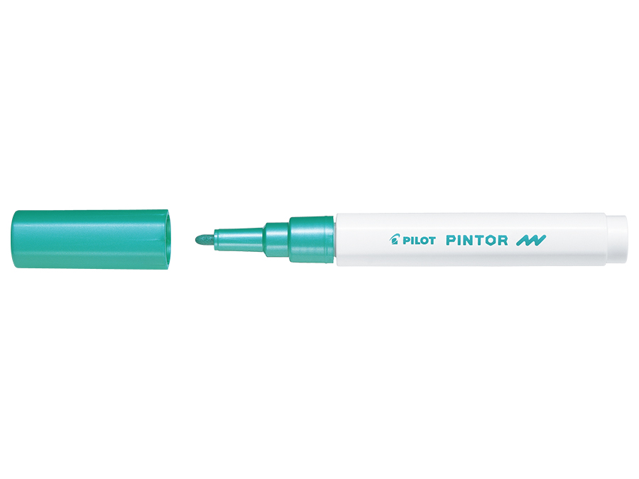 Fiberpenna Pilot Pintor - Fine - Metallic grön  (6F)