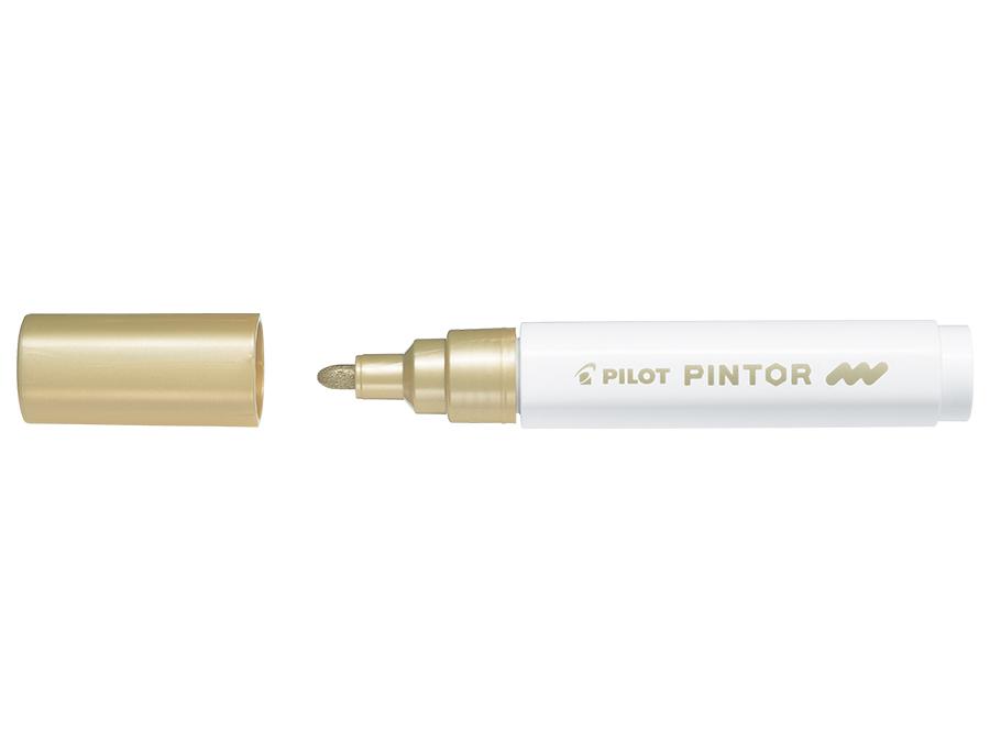 Fiberpenna Pilot Pintor - Medium - Guld (6F)