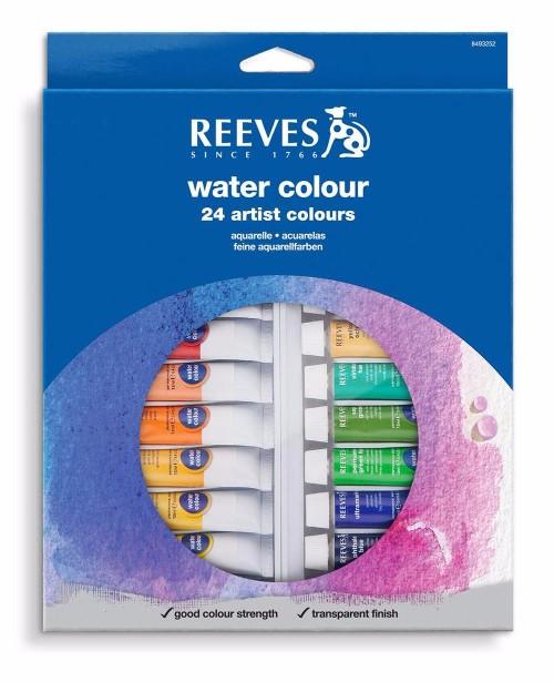 Akvarellset Reeves 24x10 ml Utgår