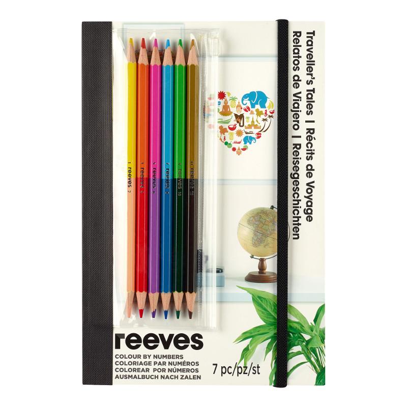 Måla efter nummer Reeves Färgpennor Travellers Tales PPCRNF5 (6F)