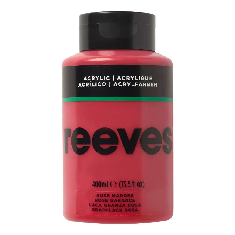 Akrylfärg Reeves 400ml ROSE MADDER 280