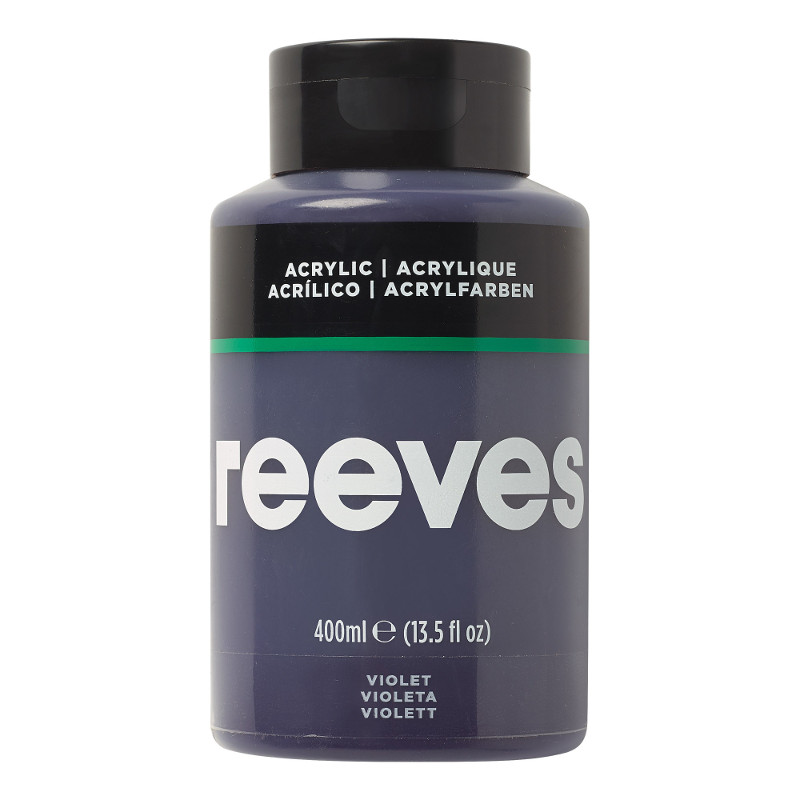 Akrylfärg Reeves 400ml VIOLET 300