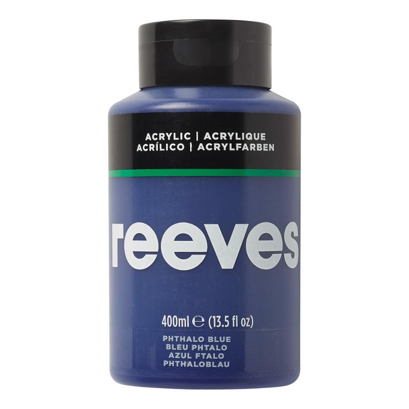 Akrylfärg Reeves 400ml PHTALO BLUE 330