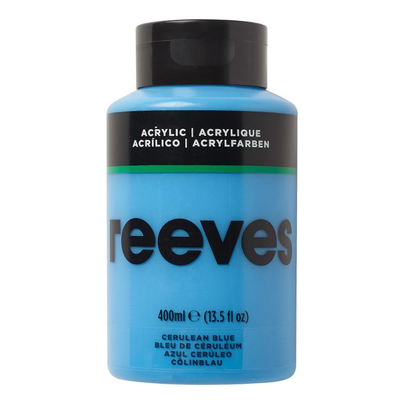 Akrylfärg Reeves 400ml CERUL BLUE 360