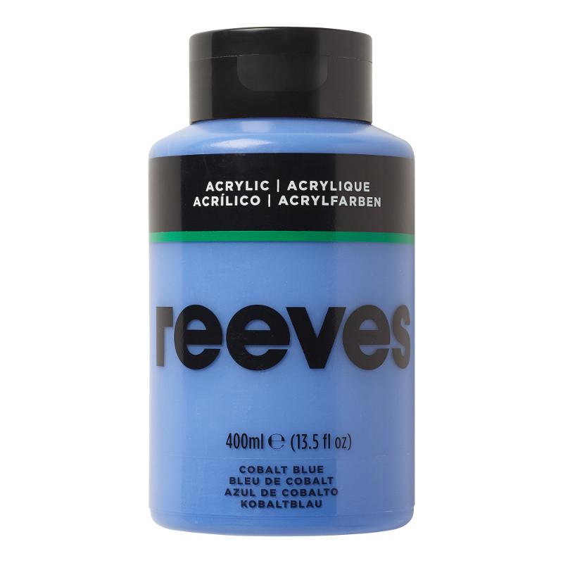 Akrylfärg Reeves 400ml COBALT BLUE 370